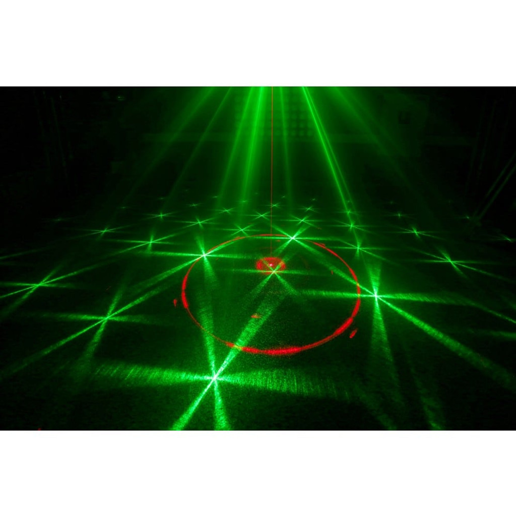 Beamz Cupid Laser Light Dual Red and Green Multipoint