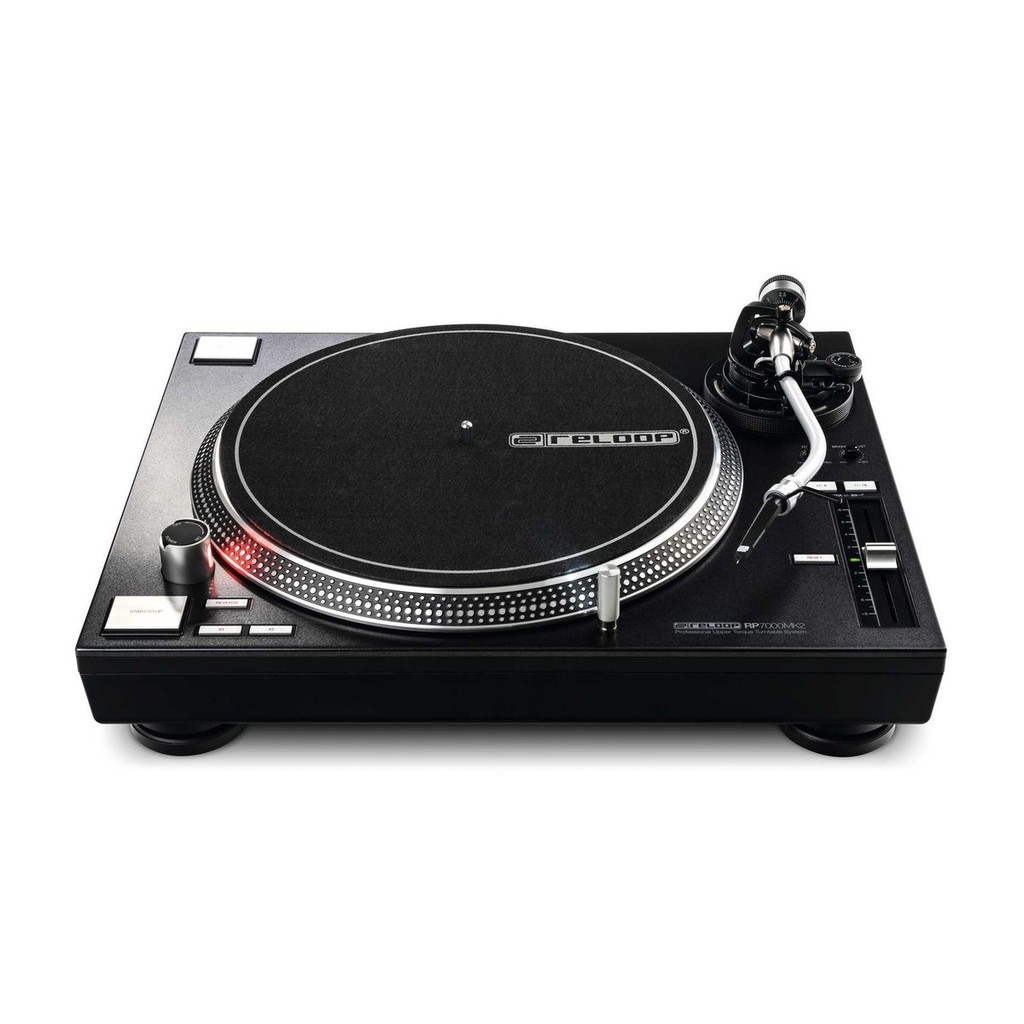 Reloop RP-7000MK2 Direct Drive Scratch DJ Turntable – Black