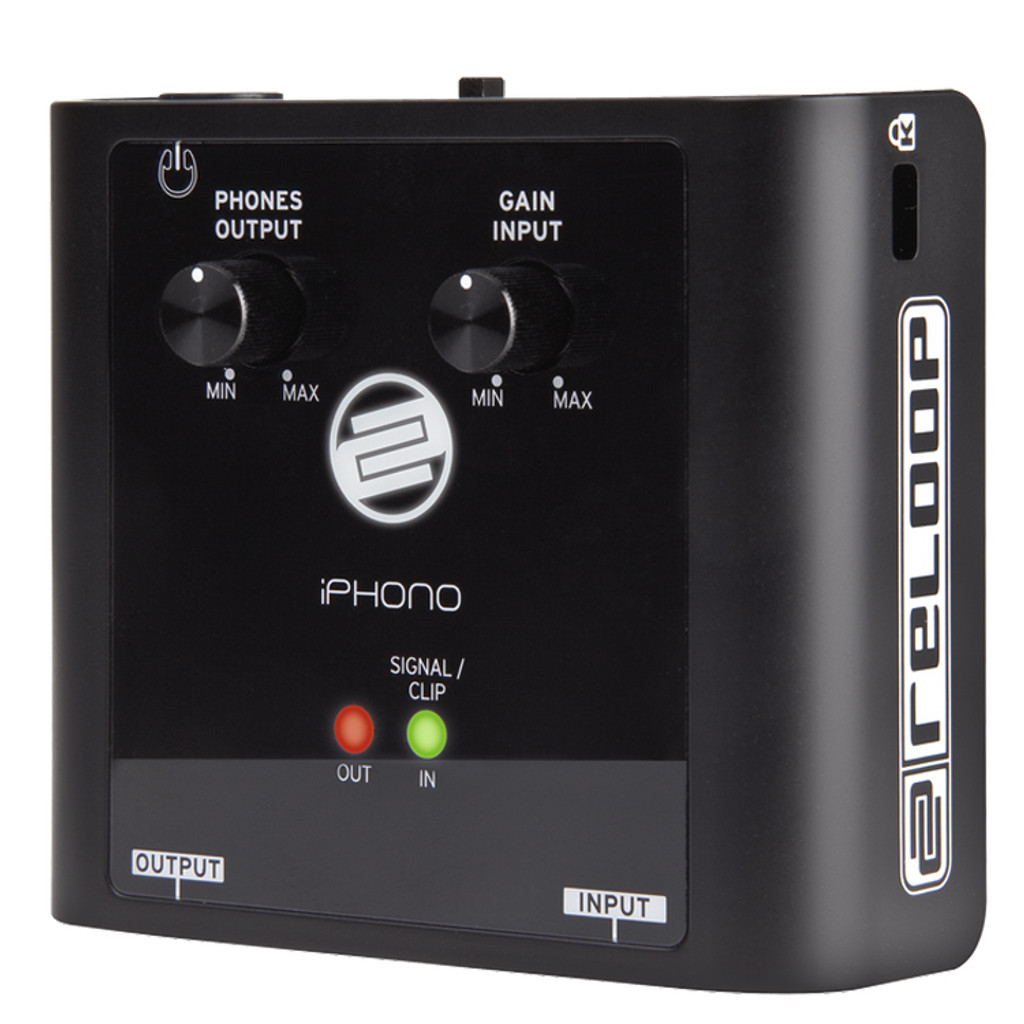 Reloop IPHONO2 USB DJ Recording Interface with Vinyl Phono or Line Input