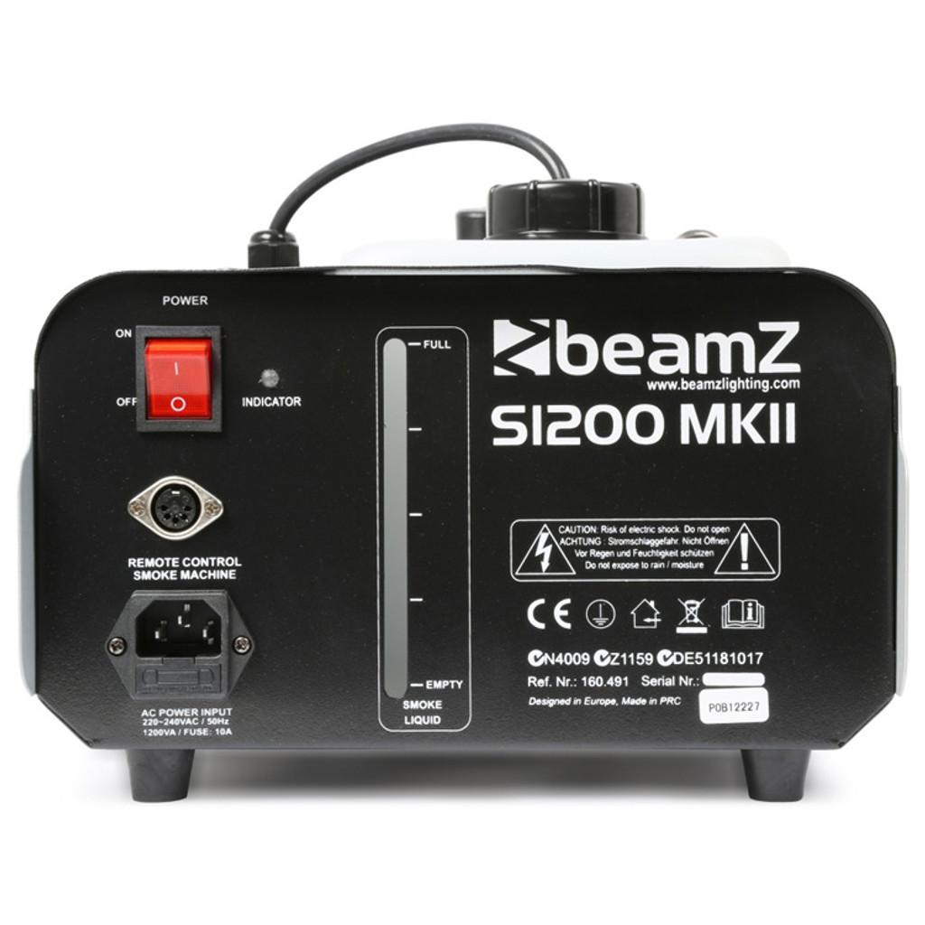 Beamz S1200 mk2 Smoke Machine 1200W