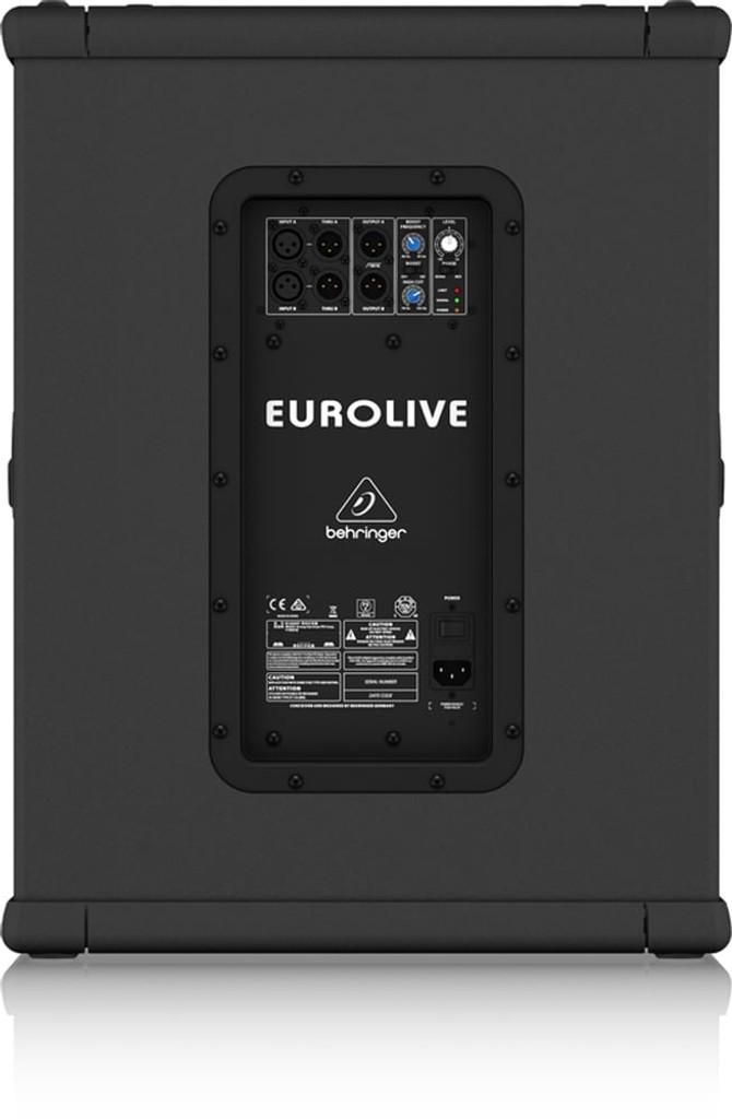 Behringer Eurolive B1500XP 15″ Powered Subwoofer 3000W