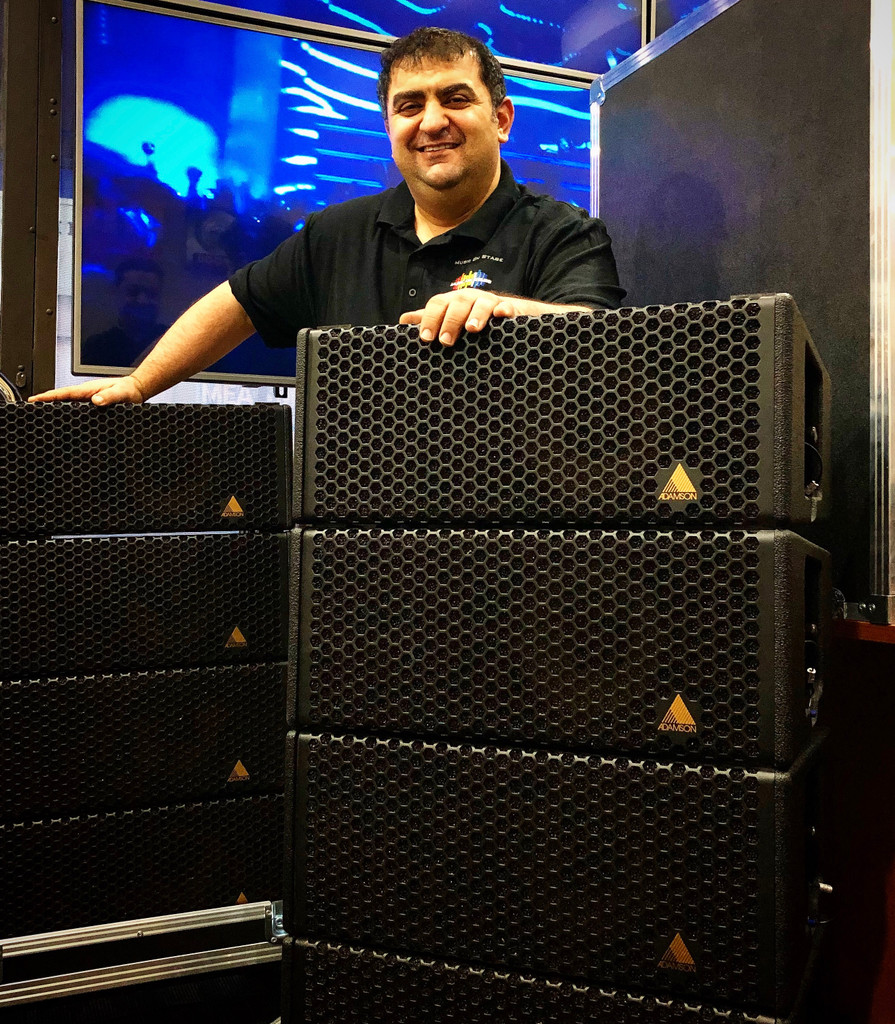 Music On Stage Acquire Adamson System For Productions & Festivals Hire.