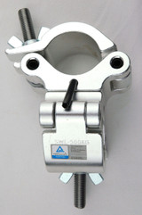 Double swivel lighting clamp with locking pin for 50mm truss