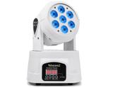 Beamz MHL74-W LED Moving Head Wash - White