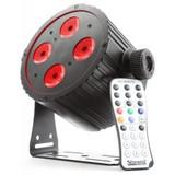 Beamz BAC404 Hex Colour LED Par Can – Black