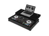 UDG Ultimate Flight Case for Pioneer DDJRX / DDJSX2 w/ Laptop Shelf & Wheels (Black)