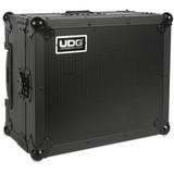 UDG Ultimate Flight Case for Multi Format Turntable w/ Trolley & Wheels (Black)