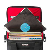Magma 44210 Riot 12″ Record Case Holds 50 – Black/Red
