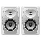 Pioneer DJ VM-50 White Pair Studio Monitor 5 Inch