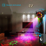 MOS Moonflower IV RGBW Stage Light Effect Laser Projector