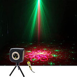 MOS DP8 Red Green Double Color Laser Music Box Concentrated Laser Stage Light Bluetooth Speaker