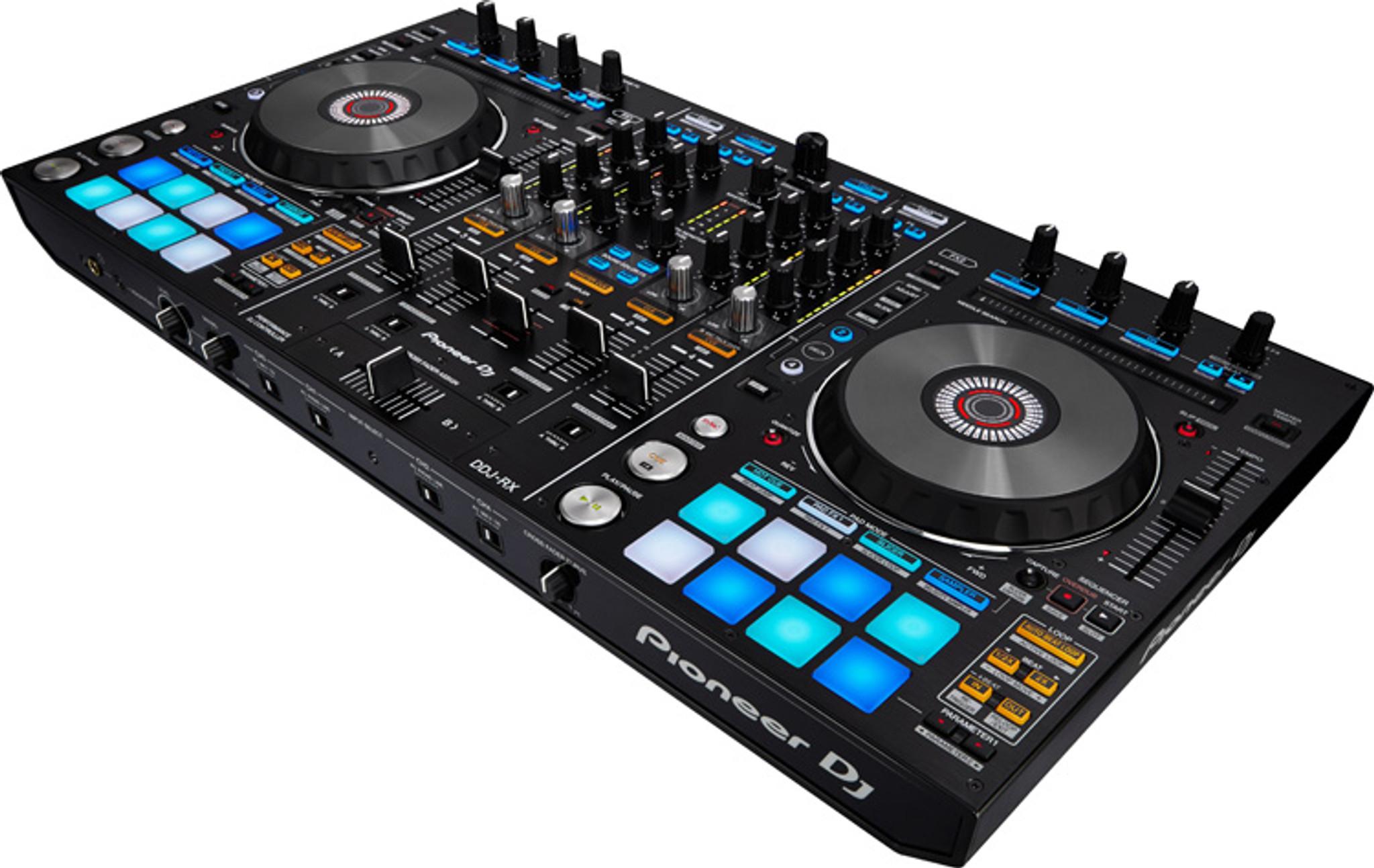 Pioneer DDJRX 4-Channel Rekordbox DJ Controller w/ Performance Pads