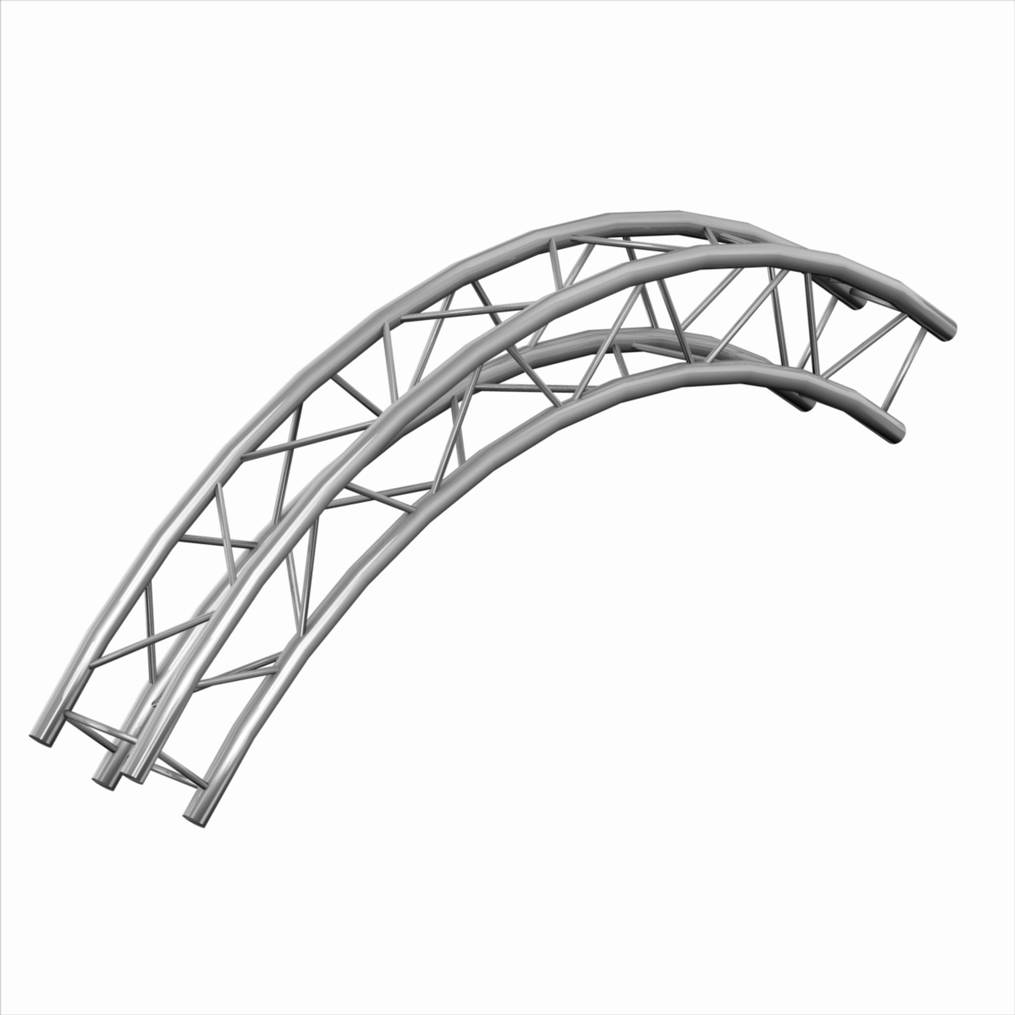 Trusst CT290-430CIR-90 90 Degree Arch Truss 3m