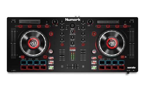 Numark Mixtrack Platinum FX 4-Deck Advanced DJ Controller w/ Jog Wheel Displays & FX
