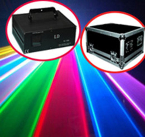 4500mW RGB Analog Laser DJ stage Light DMX512 ILDA 40K Full color