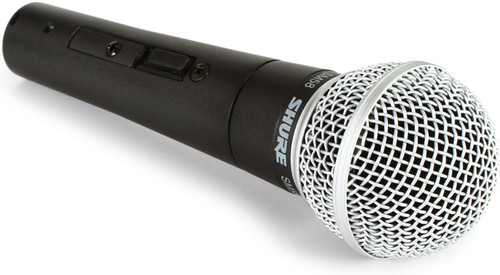 Shure SM58S Switched (On-Off) Professional Microphone