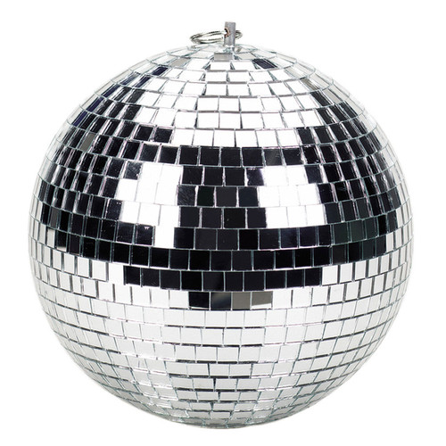 Brightlight LMB12 12-Inch 30cm Mirrorball with Safety Loop