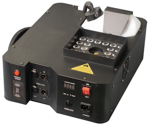 Phoenix  M.O.S 1500W Vertical Fog Machine With 24 LED Lights