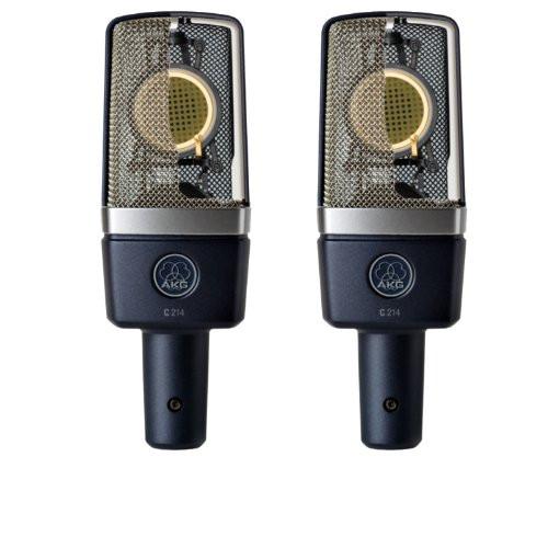 AKG C214ST Small Diaphragm Condenser Mics (Stereo Pair)