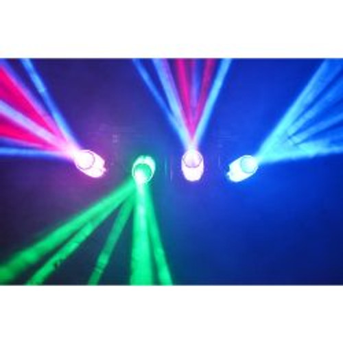Beamz 4Some-Clear LED DJ Effect Light 4-Set