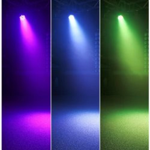 Beamz Flatpar 1 Wx36 LED Tri-Colour Par Can