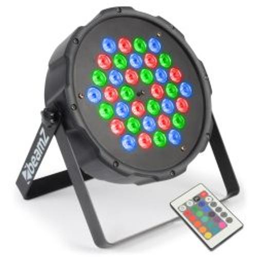 Beamz Flatpar 1 Wx36 LED Tri-Colour Par Can
