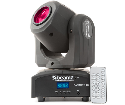 Beamz Panther-40 Led Spot Moving Head IRC