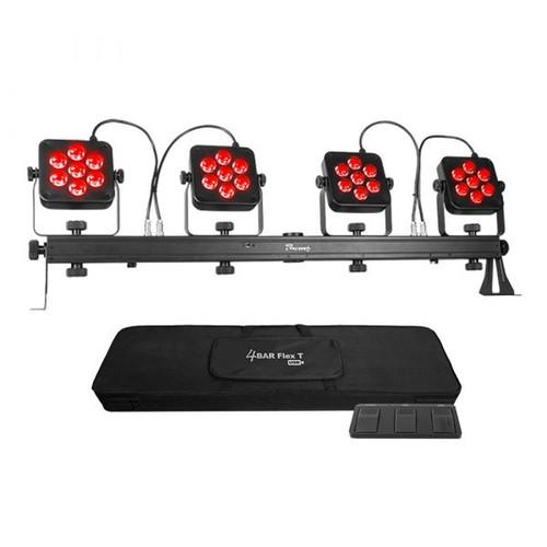 Chauvet DJ 4Bar Flex T USB Complete LED Parcan Set