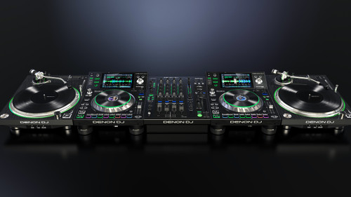Denon DJ VL12 Prime: Professional DJ Turntable