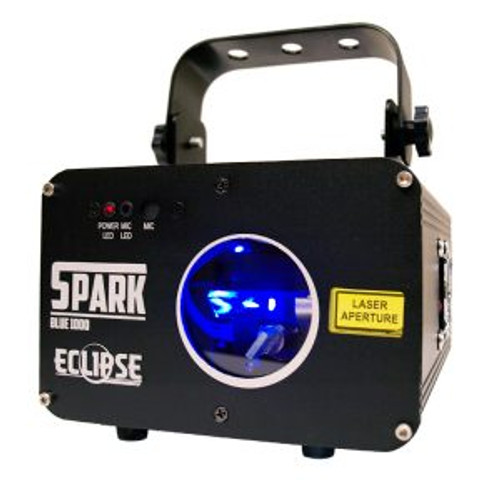 Eclipse Spark 1B Pattern Laser Blue