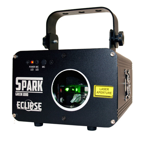 Eclipse Spark 1G Pattern Laser Green