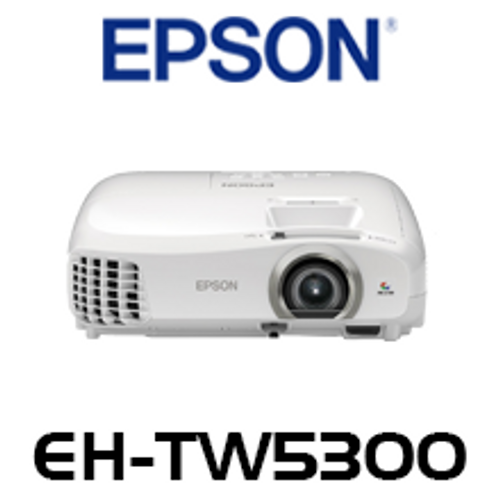 EPSON EH-TW5300 3LCD FULL HD 1080P 3D HOME CINEMA THEATRE PROJECTOR MHL