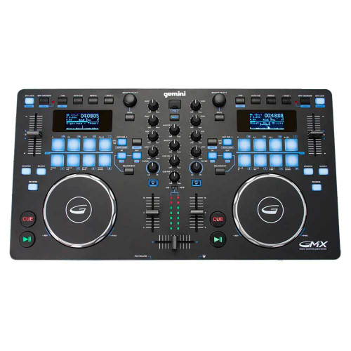 Gemini GMX 2 Channel All-In-One MIDI USB DJ Controller
