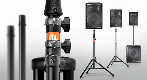 JBL Gas Assist Tripod fits JRX200,PRX400, STX800, EON, PRX700, VRX900 Speakers