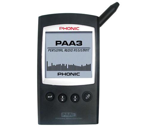 Phonic Pro Lightweight Handheld Audio Tester Analyser w USB 2.0 Interface PAA-3
