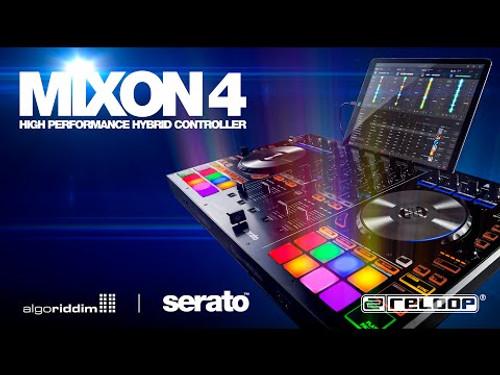 Reloop Mixon 4 Hybrid Serato DJ Controller 4 Channel