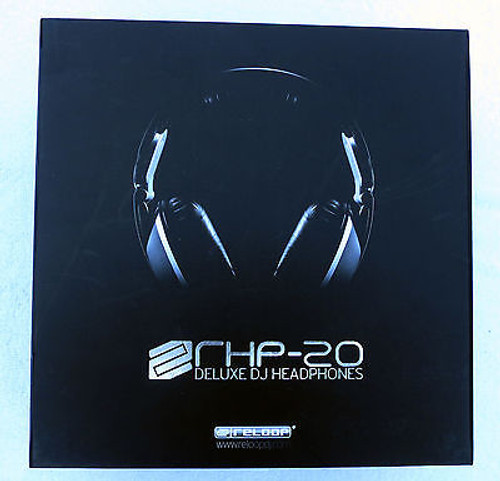 Reloop RHP-20 Knight Professional DJ Headphones – Black
