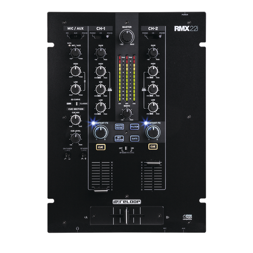 Reloop RMX-22i DJ Mixer 2 Channel