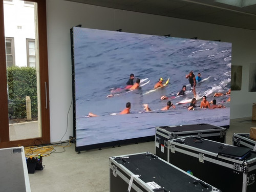 2.65m x 1.5m P4.81 LED screen
