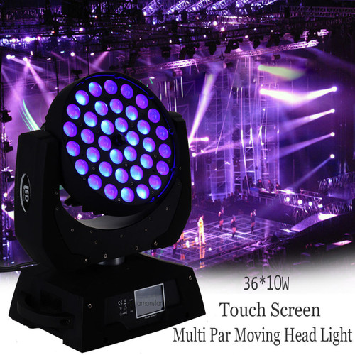 Eagle Titan 360w CREE  LED Zoom Wireless DMX Moving Head Touch Control