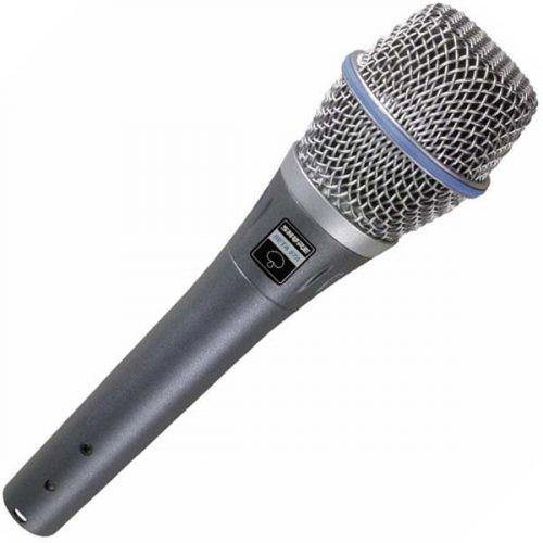 Shure Beta 87A Studio Condenser Microphone