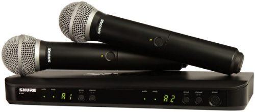 Shure BLX288PG58 Dual Wireless Handheld Microphone