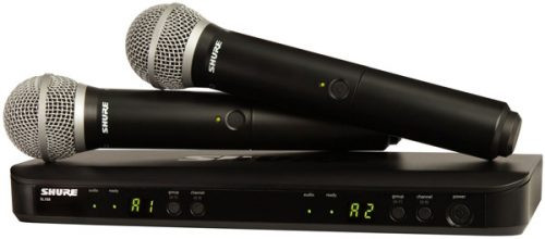 Shure BLX288PG58 Dual Wireless Handheld Microphone