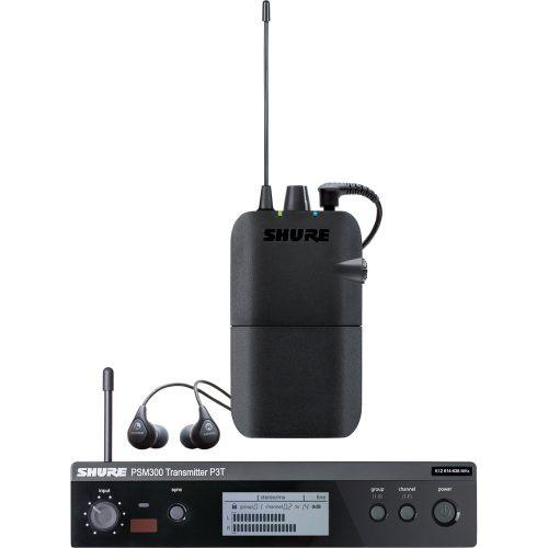 Shure P3TR112GR IEM Wireless Monitoring System