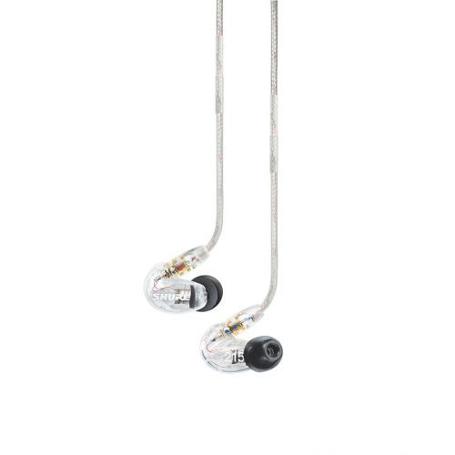 Shure SE215-CL Stereo In-ear Earphones Sound Isolating Clear