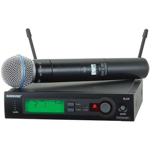 Shure SLX24  Beta58 Handheld Wireless Mic System