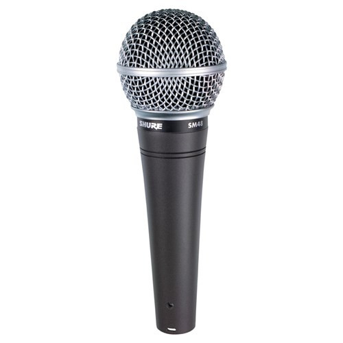 Shure SM48 Vocal Cardioid Dynamic Microphone