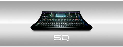 Allen & Heath SQ-6 Digital Mixer 48ch, 96kHz XCVI Core