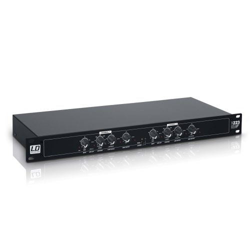 LD Systems X223 Active Crossover 2-Way Stereo  3-Way Mono