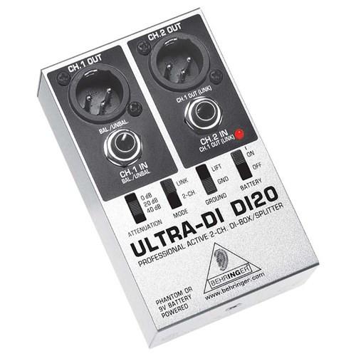 Behringer Ultra-DI DI20 2-Channel DI-BoxSplitter